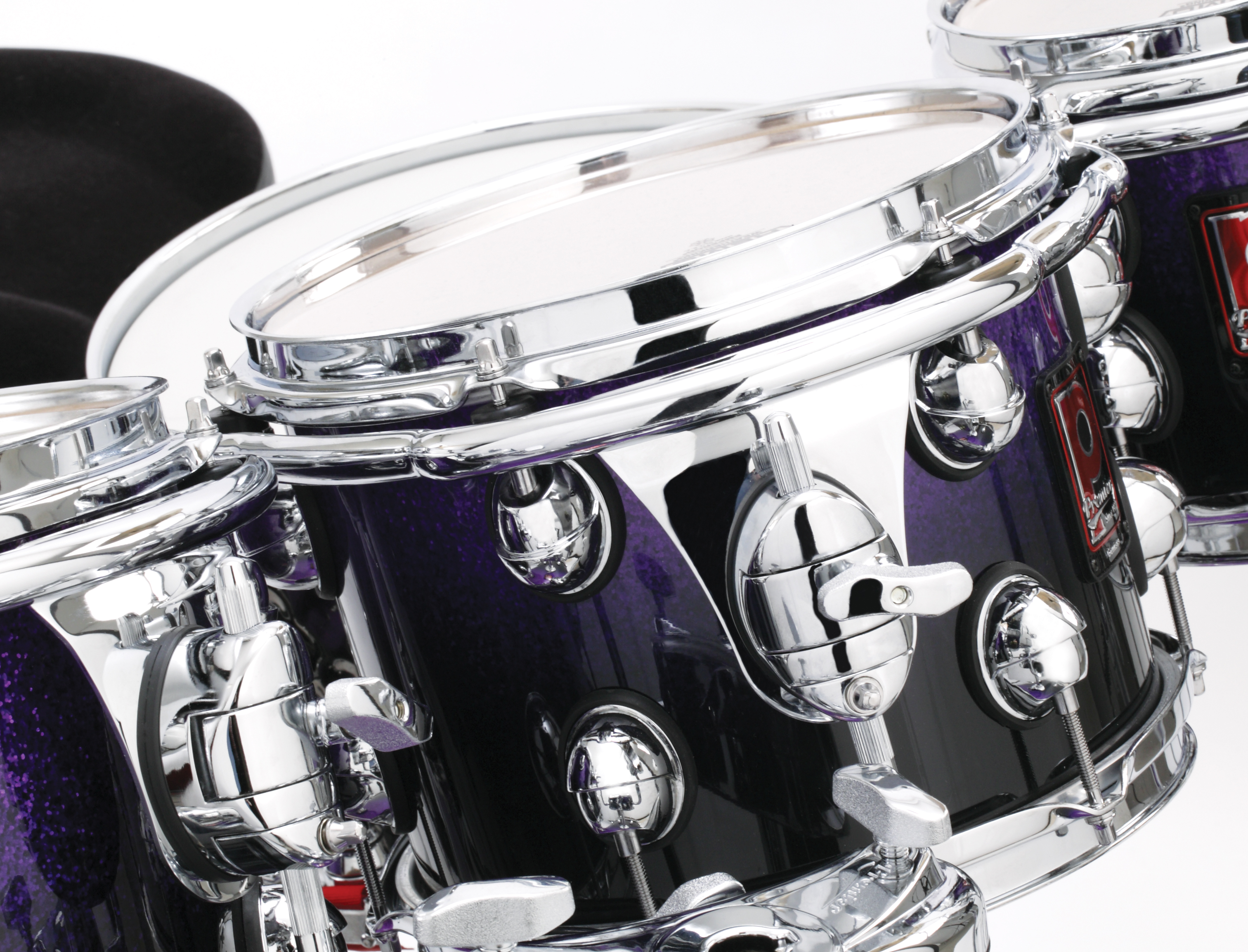 Genista Piece Drum Set Diagram Premier 9 Peice Kit In Purple Sparkle Fade