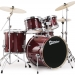 XPK Modern Rock 22 in Translucent Ruby Lacquer