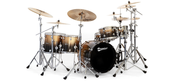 Elite Series drums by Premier